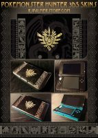 Pokemonster Hunter 3DS Skins by arvalis