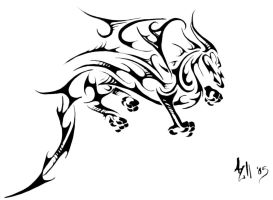 Dragon Tattoo II by alwaysandcontinuousl