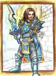 My guild - Paladin by Luthienne88