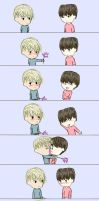 DaeJae Comic #1 by Love-and-Blades
