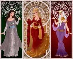 ASOIAF: Ladies and Warriors by moonprincess22