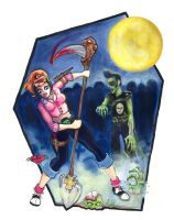 Giallo Zombie Massacre by KupKake666