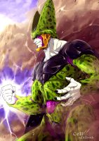 Cell vs Gohan - Cell by DoctorZexxck