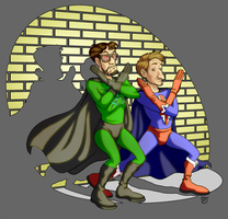 X-Ray and Vav by TheRogueSPiDER