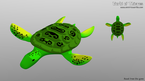 T for Turtle - Blender Month by Matou31