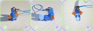 cell phone charm: Mudkip by AtsirhcOken
