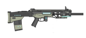 Pincer Energy Rifle by Artmarcus