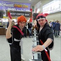 Ichigo and Renji by MJ-Cosplay