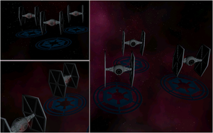TIE Fighter In-game by Majestic-MSFC