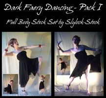 Dark Faery Dancing - Pack I by Slylock-Stock