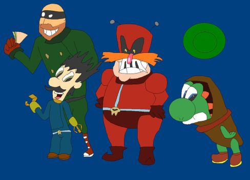 League of Super Pingas by StrongSeanMann
