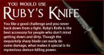 Which Supernatural Weapon Would I Use? by StyxxsOmega