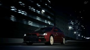 Mitsubishi Evo X - SSR5 by MercilessOne