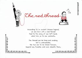 The red thread by Goldencombi