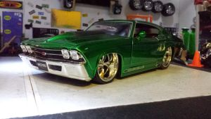 1969 Chevelle SS by themodelist
