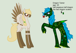 Dragon Tamer the smooth talker by Mighty-C-amurai