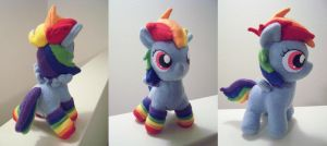 My Little Dashie Plush by PonyPoni