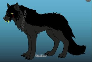 Shadowclaw on wolf maker by lavademon55
