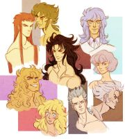 saint seiya - misc by spoonybards
