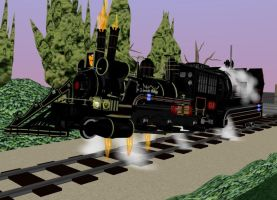 Back To the future Train 01 by g2mdluffy