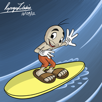 Surfin' Bug by RyougaLolakie