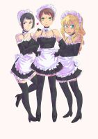 Maids In Waiting by ReeBeast