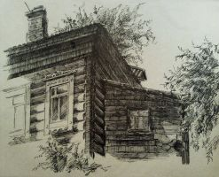 architect element of old house by PReih