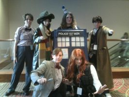 The Doctors - A-kon 21 Cosplay by Texas-Guard-Chic