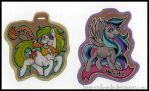 Sparkle Badges- Pony Versions! by ImmortalPanda