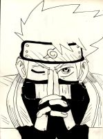 Sharingan Kakashi by Cubed1