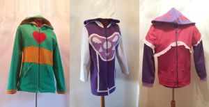 Undertale hoodies 2 by simakai