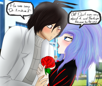 C: CR-S01 x Naomi- Thanks 4 the rose by Milizapiainc