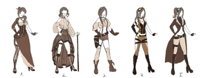 Steampunk cosplay: Which one? by Wolfsoul125