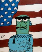 Sam the Eagle Muppet by sampson1721