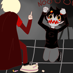 Happy wriggling day to Karkat (ANIMATION) by deliriousPoet
