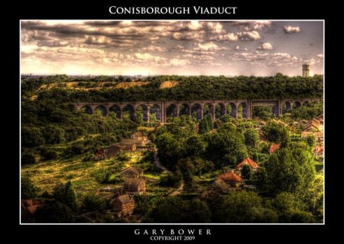 Conisborough Viaduct by AugustGaz