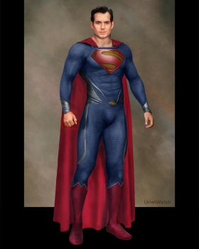 Clark Kent the Man of Steel 2 by urielwelsh