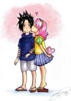 SasuSaku-HAPPY BIRTHDAY BOBO by d00li