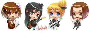 k-on by junefeier