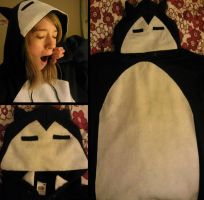 Snorlax Hoodie by MishYooona