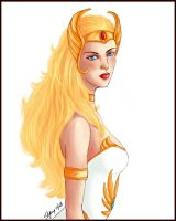 She-ra Princess of Power by sylentwhysper