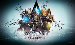Wallpaper Assassin's Creed Unity by KurokoGraph