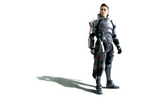 Commander Shepard: Butcher of Torfan by LittleBlondeGoth