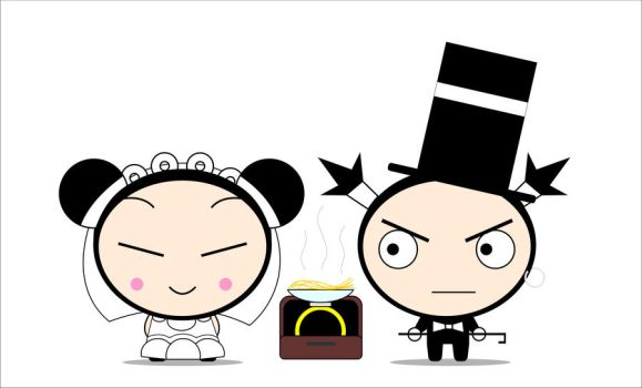Pucca wedding by Zuoi