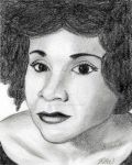 Drawing of Katherine Dunham by ArtmasterRich