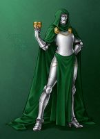 Victoria Von Doom by frostious