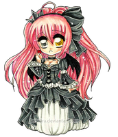 The Fallen Gothic Lolita Princess by Lettelira