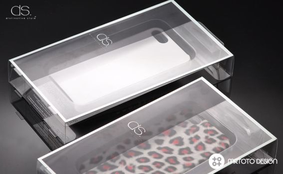 iPhone 5 Phone Case Packaging Design for DSstyles by totoproduction