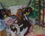 Crasy cow by susa92