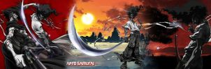 Afro Samurai wallpaper by Toxigyn